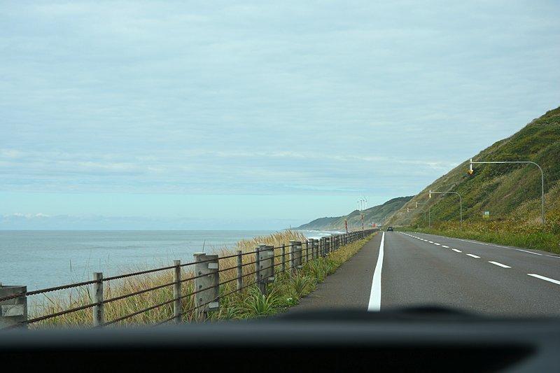 3rd day around Japan [Hokkaido] Run Orolon Line