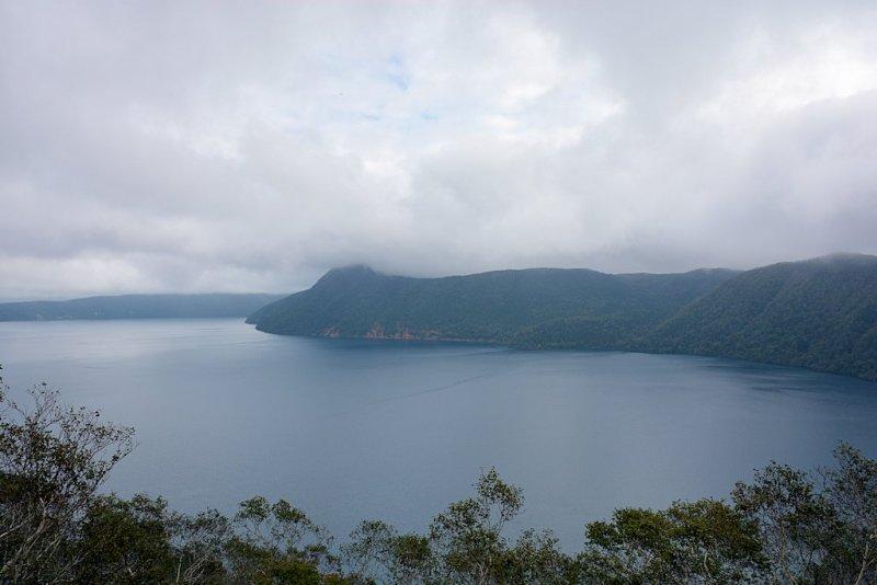 "8th day around Japan ""Hokkaido"" Lake Mashu of the Mist"