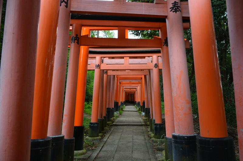 日本一周29日目【京都】伏見稲荷の千本鳥居