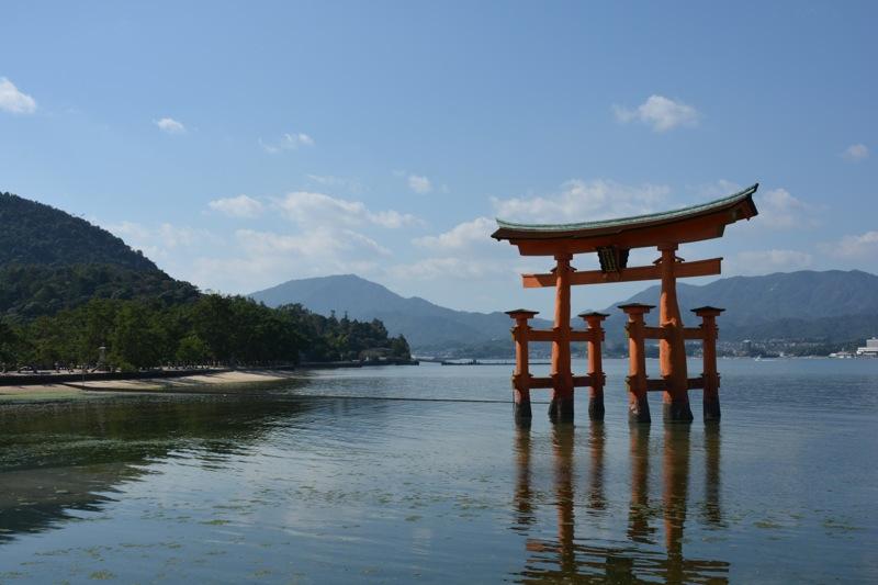 日本一周37日目 【広島】原爆ドームと安芸の宮島