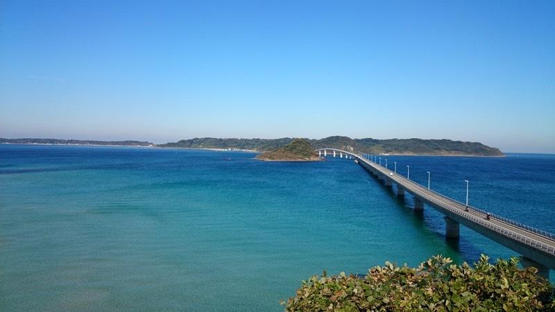 日本一周39日目 【山口】角島大橋・海を渡り角島を巡る