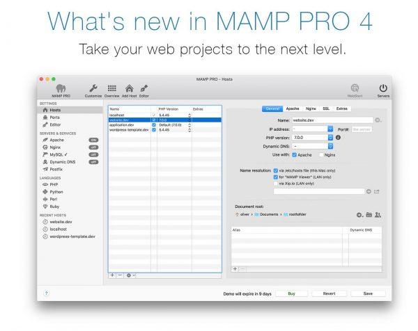 MACの開発環境 MAMP PRO4 を徹底解説!気になるベンチマークも