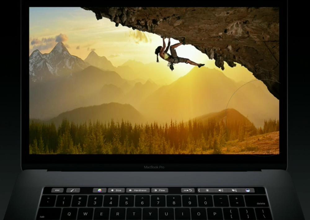 これは欲しい!2016新型MacBook Proが発表 より薄く、より軽く OLD TouchBer搭載