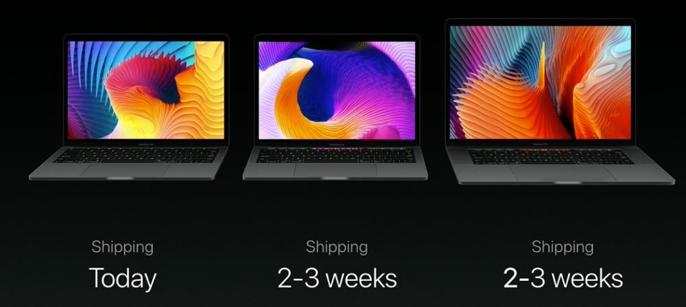 新型MacBook Pro 配送遅延してるっぽい