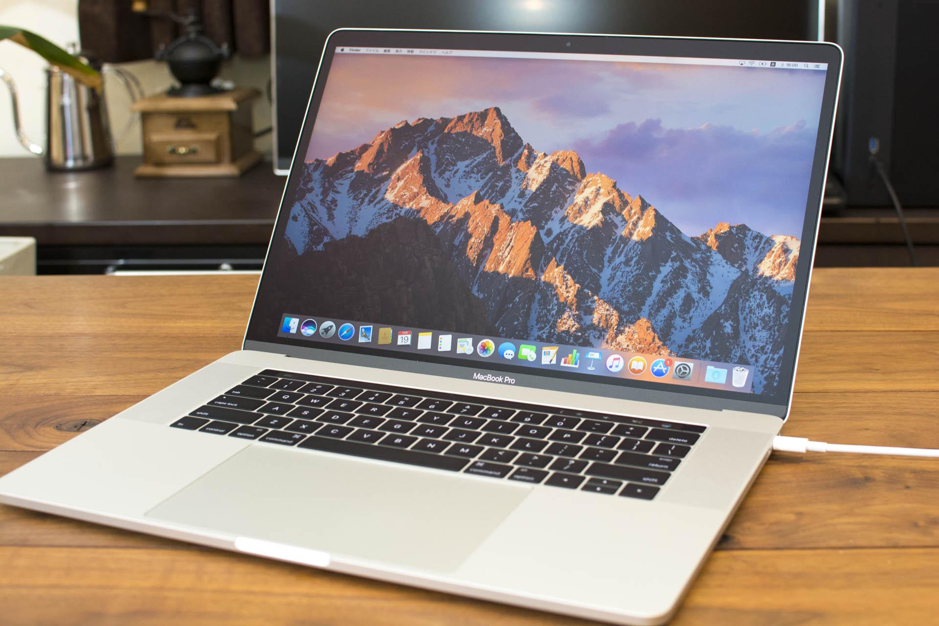 新型MacBook Pro15インチ(Late2016)開封の儀 【高画質】
