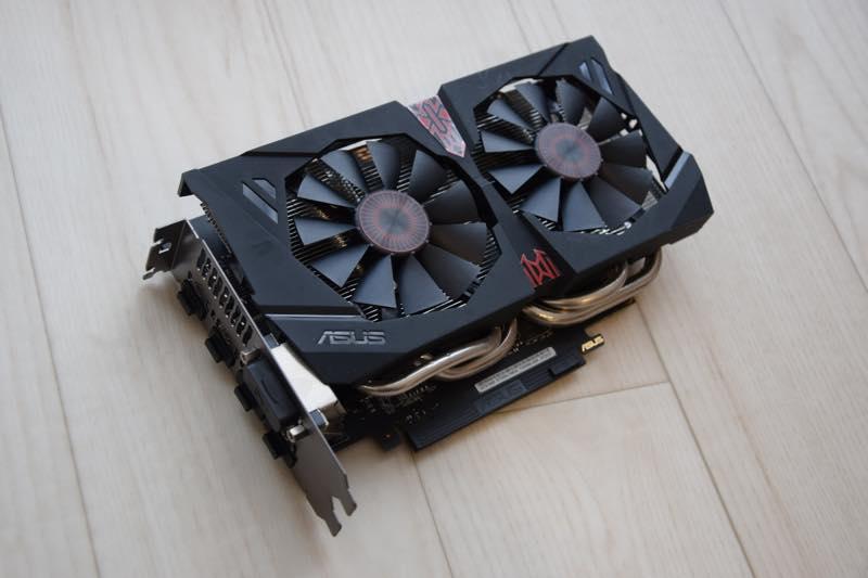 ASUS GTX1060 6GBビデオカード STRIX-GTX1060-DC2O6G レビュー