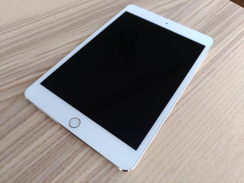 iPad mini4 2017 セルラーモデルを買ってしまったレビュー