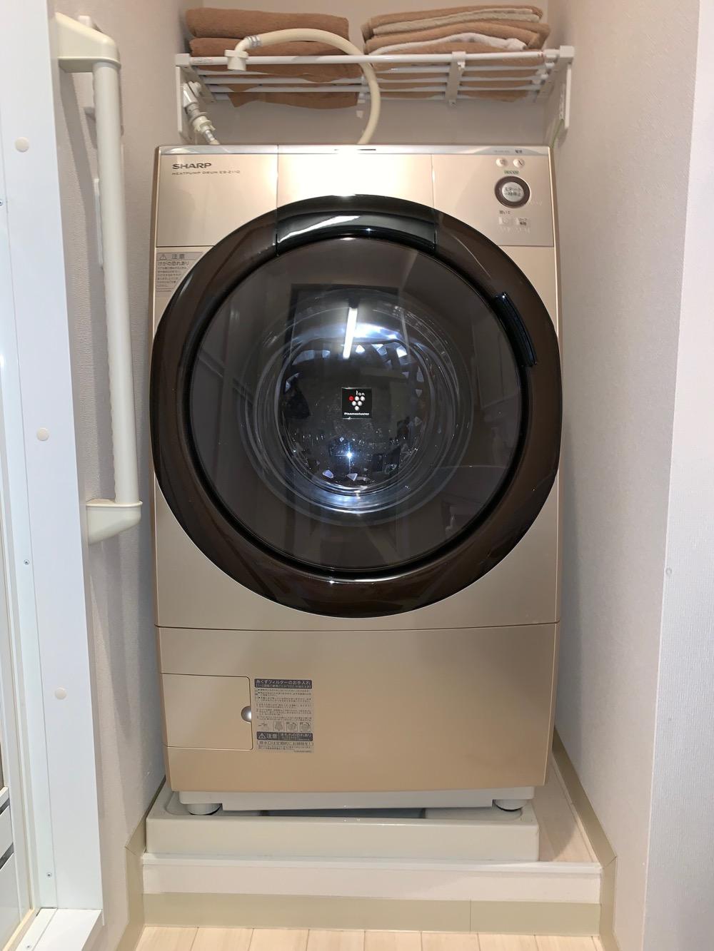 ドラム式洗濯機の乾燥フィルター詰まりを修理してみた ES-Z110L U04エラー